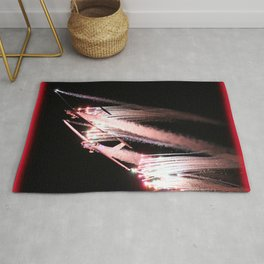 Pyrotechnics Precision With Red Haze Rug