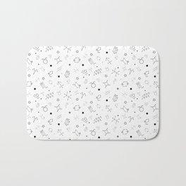 Reversed Zodiac Constellation Bath Mat