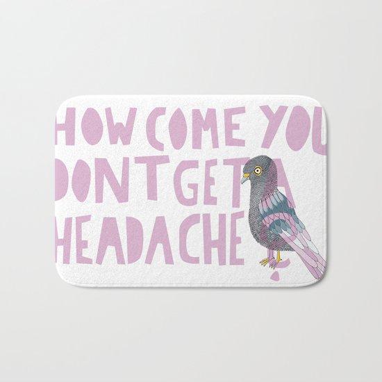 Headache! Bath Mat