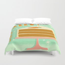 All American Classic Carrot Cake Duvet Cover