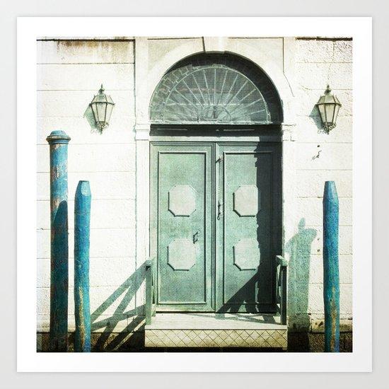 The Door - Venice Art Print