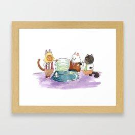 The Water Cooler Framed Art Print