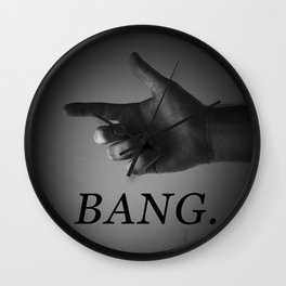 BANG. Wall Clock