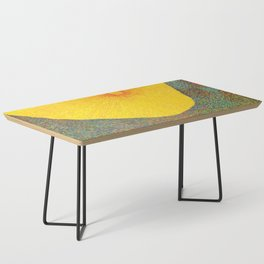 Here Comes the Sun - Van Gogh impressionist abstract Coffee Table