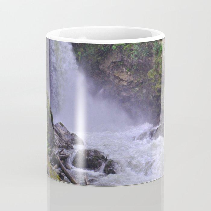 Sutherland Falls BC,Canada Nature Scene Coffee Mug