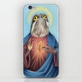 Potoo Jesus iPhone Skin