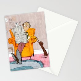 The Cat Lover Stationery Cards