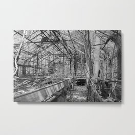 Abandoned: Ridley Greenhouse No.2 Metal Print