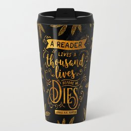 Thousand Lives - gold Travel Mug