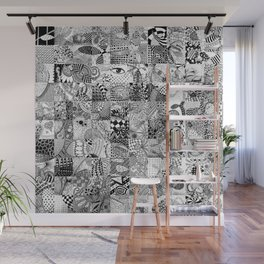 Doodling Together #5 Wall Mural