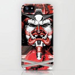 Samurai Flag iPhone Case
