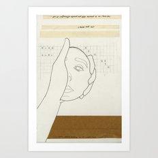 8 a.m. Art Print