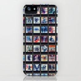 128 Sexy Polaroids in Negative iPhone Case