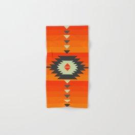 Southwestern in orange and red Hand & Bath Towel