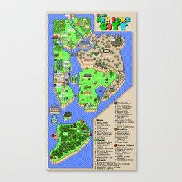 Super Mario NYC Canvas Print
