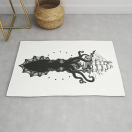 Colossal Squid Rug
