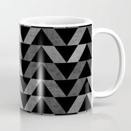 Triangle -Yellow and Grey Coffee Mug