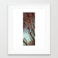 loish Framed Art Prints featuring winter  by loish