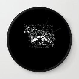 Stock Market Capitalist Bull Bear Stocks Wall Clock