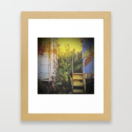 """""""What Once Was"""" Framed Art Print"""