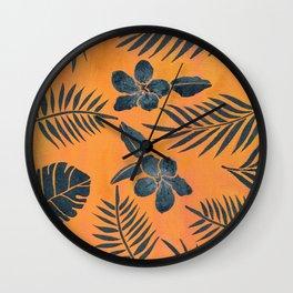 Sunset Paradise Wall Clock