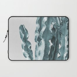 Cacti in Blue Laptop Sleeve
