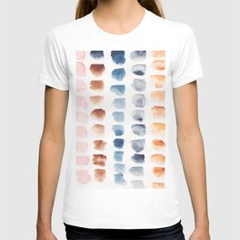 8  | Abstract Patterns Watercolor Painting | 200615 T-shirt