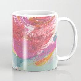 Duck Egg Rose Coffee Mug