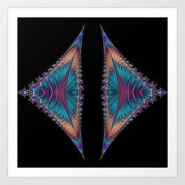 Solar Sails of My Dreams Art Print