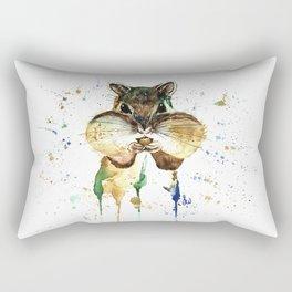 Chipmunk - Feeling Stuffed Rectangular Pillow