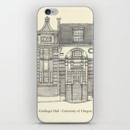 Gerlinger Hall iPhone Skin