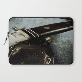 Old Hunting Knife Laptop Sleeve