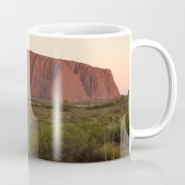 Sunset at Uluru Coffee Mug