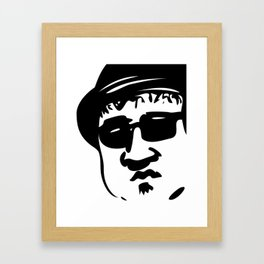 Face Blues Brother John Belushi Framed Art Print