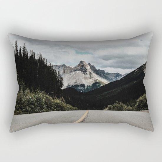 Mountain Road Rectangular Pillow