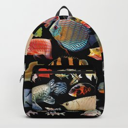 Freshwater tropical fish Backpack