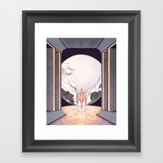 The Heights of Ease Framed Art Print