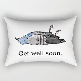 Get Well Soon Rectangular Pillow