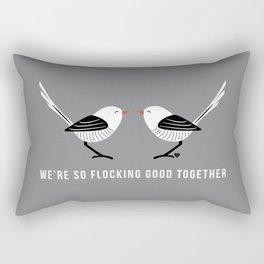 Flocking Good Rectangular Pillow