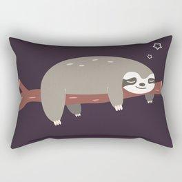 Sloth card - good night Rectangular Pillow