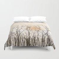 home sweet home Duvet Covers featuring Home, Sweet Home by MiniMe