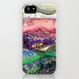 Big Mountians iPhone Case