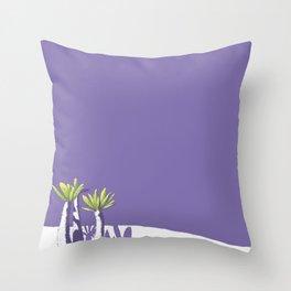 Desert Plants Throw Pillow