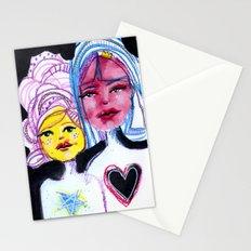 Sunday was Salon Day Stationery Cards