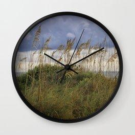 Longboat Sea Oats Wall Clock