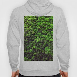 Dark Green Moss Hoody