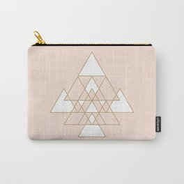 Geometric Art Carry-All Pouch