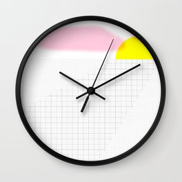 This calm moment before the night Wall Clock