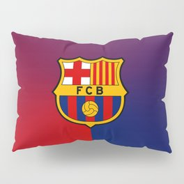 barcelona Sport Football Spain red blue team Pillow Sham