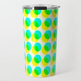 dots pop pattern 3 Travel Mug